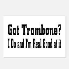 Cute Trombone Postcards (Package of 8)