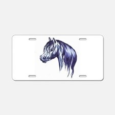 Cute Welsh pony Aluminum License Plate