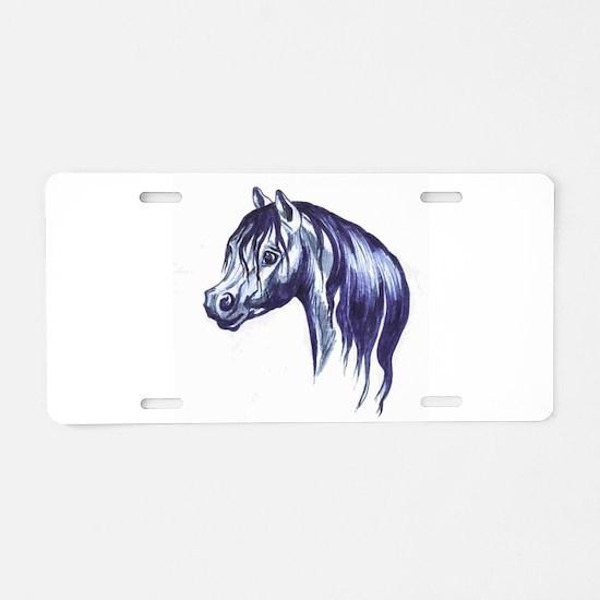 Cute Cob Aluminum License Plate