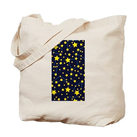 Happy Star Chart Tote Bag
