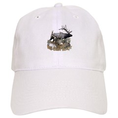 Big game elk and deer Baseball Cap