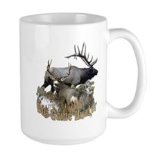 Big game elk and deer Mug
