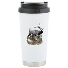 Big game elk and deer Travel Mug