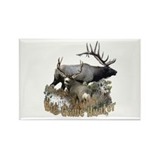 Big game elk and deer Rectangle Magnet