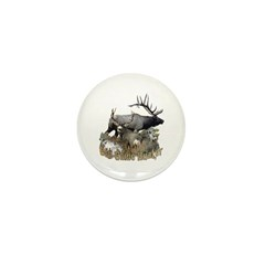Big game elk and deer Mini Button (100 pack)