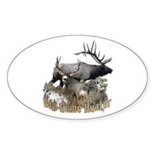 Big game elk and deer Decal
