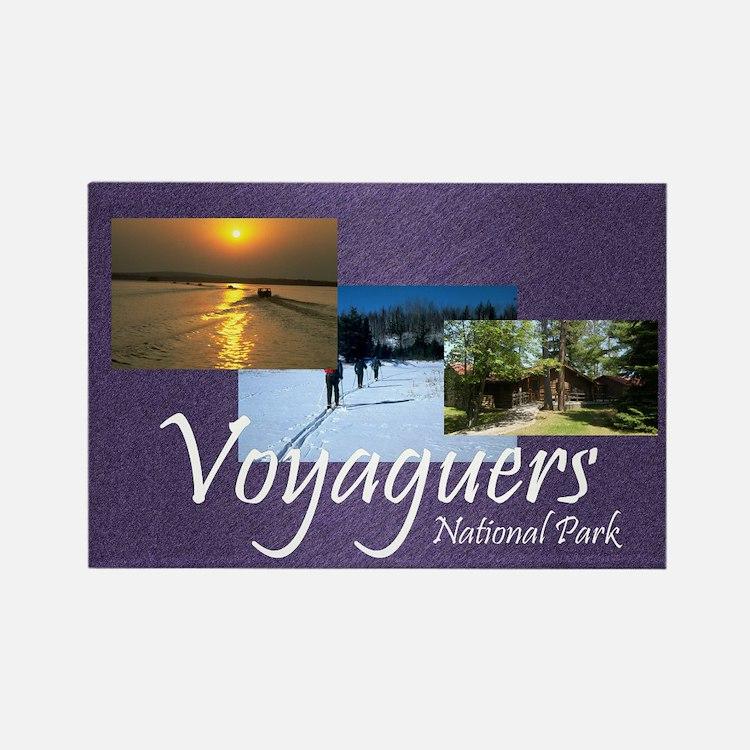 ABH Voyageurs Rectangle Magnet