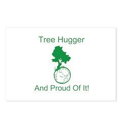 Tree Hugger & proud Postcards (Package of 8)