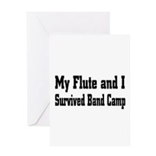 Funny Flute Greeting Card