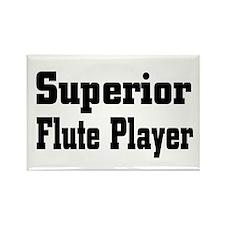 Funny Band flute Rectangle Magnet