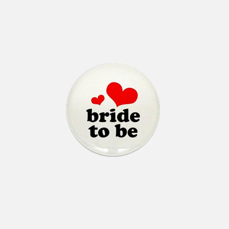 Bride To Be Mini Button