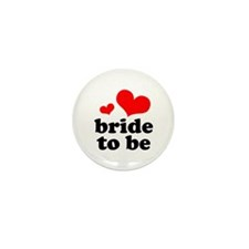 Bride To Be Mini Button (10 pack)