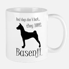Real Dogs Don't Bark - Silhou Mug