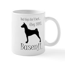 Real Dogs Don't Bark - Silhou Small Mug