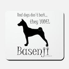 Real Dogs Don't Bark - Silhou Mousepad