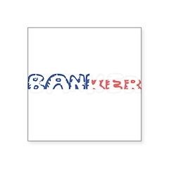 Artsy Dachshund Sticker (Oval 10 pk)