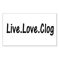 Cute Clog Decal