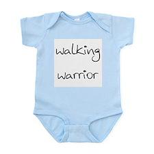 walking warrior Infant Bodysuit