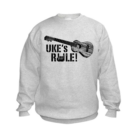 Uke's Rule Kids Sweatshirt