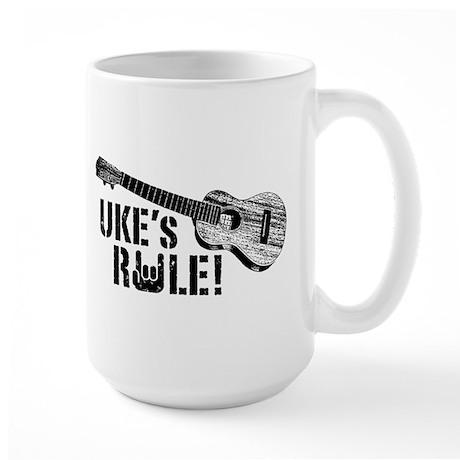 Uke's Rule Large Mug