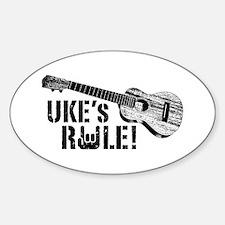 Uke's Rule Decal