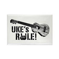 Uke's Rule Rectangle Magnet