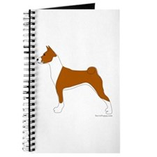 Red and White Basenji Journal