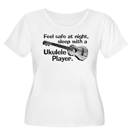 Funny Ukulele Women's Plus Size Scoop Neck T-Shirt