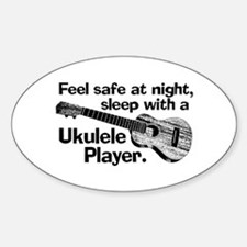 Funny Ukulele Decal