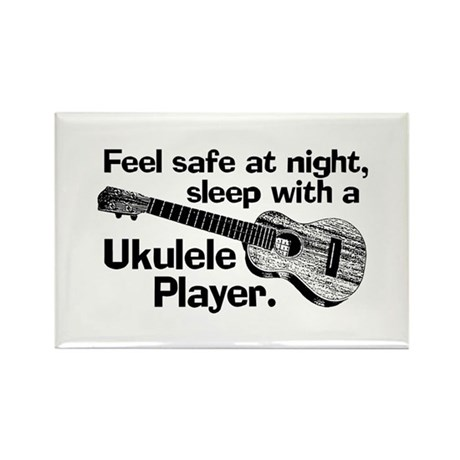 Funny Ukulele Rectangle Magnet