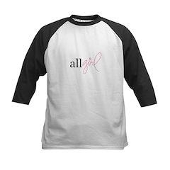 All Girl Kids Baseball Jersey