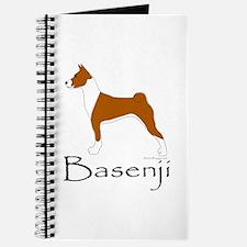 Red and White Basenji Journal