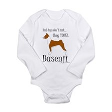 Real Dogs Don't Bark - Red Long Sleeve Infant Body
