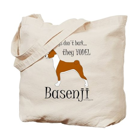 Real Dogs Don't Bark - Red Tote Bag