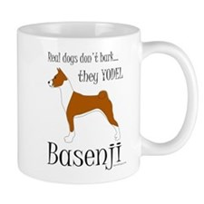 Real Dogs Don't Bark - Red Mug