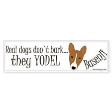 they YODEL! Bumper Sticker