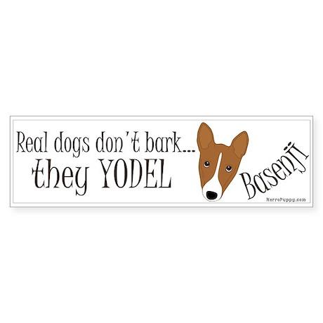 they YODEL! Sticker (Bumper)