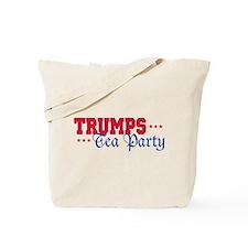 Donald Trump Tea Party Tote Bag