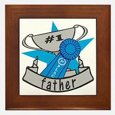 World's Best Father Framed Tile