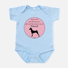 Girls Best Friend -Silhouette Infant Bodysuit