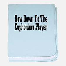 Unique Euphonium baby blanket