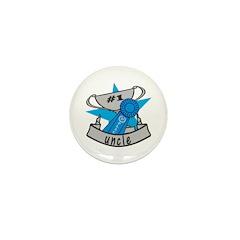 World's Best Uncle Mini Button (10 pack)