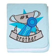 World's Best Brother baby blanket