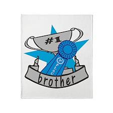 World's Best Brother Throw Blanket