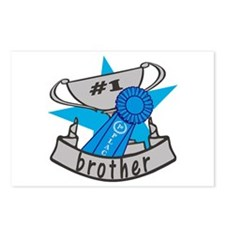 World's Best Brother Postcards (Package of 8)