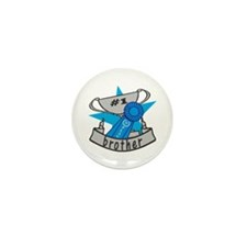 World's Best Brother Mini Button (10 pack)