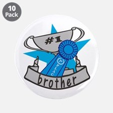"World's Best Brother 3.5"" Button (10 pack)"