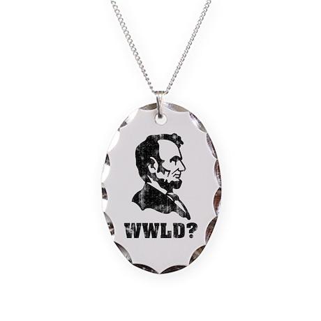WWLD Necklace Oval Charm