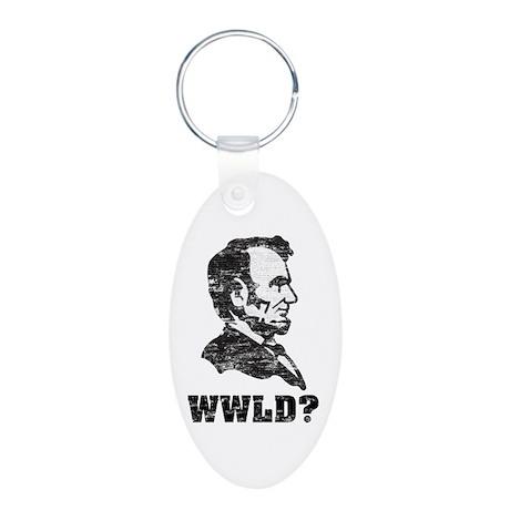 WWLD Aluminum Oval Keychain