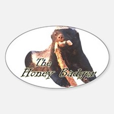 The Honey Badger Decal